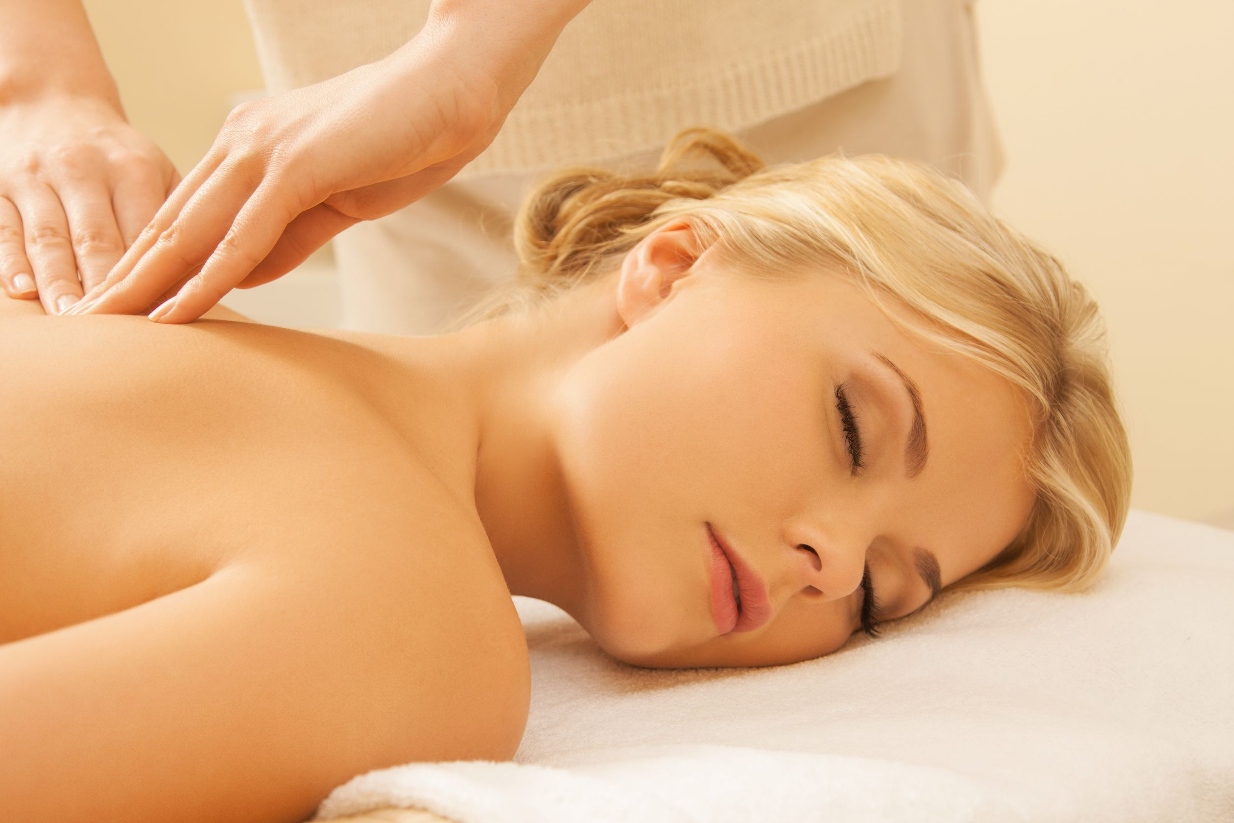 Massage Atempause Entspannung Wellness